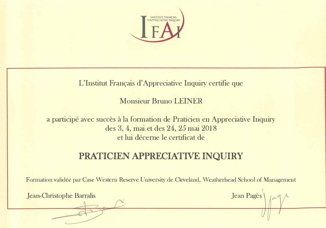 certificat ifai
