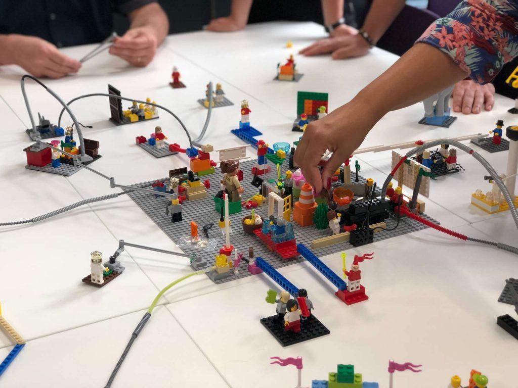 création maquette lego