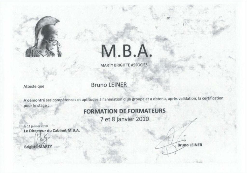 certification formation de formateur